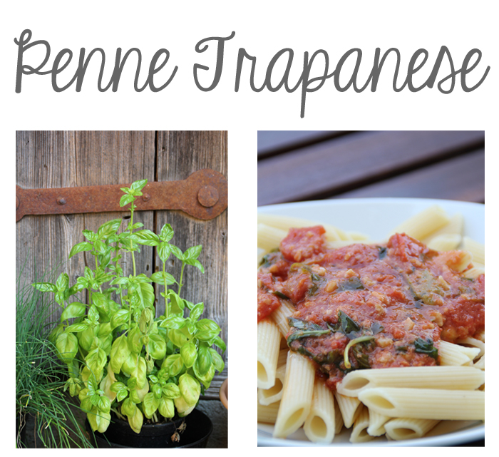 Penne Trapanese