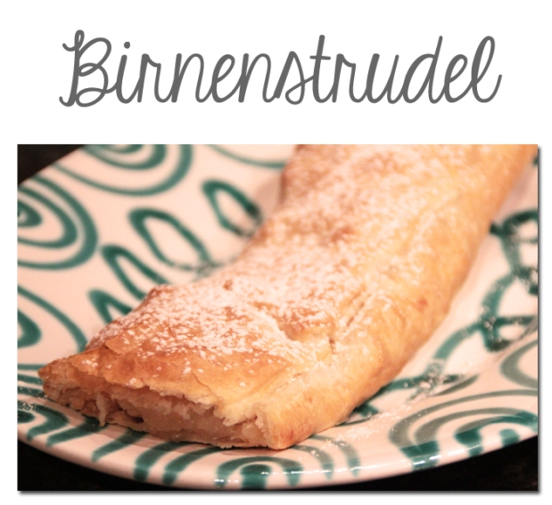 Birnenstrudel