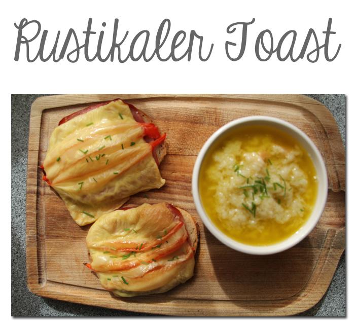 Rustikaler Toast