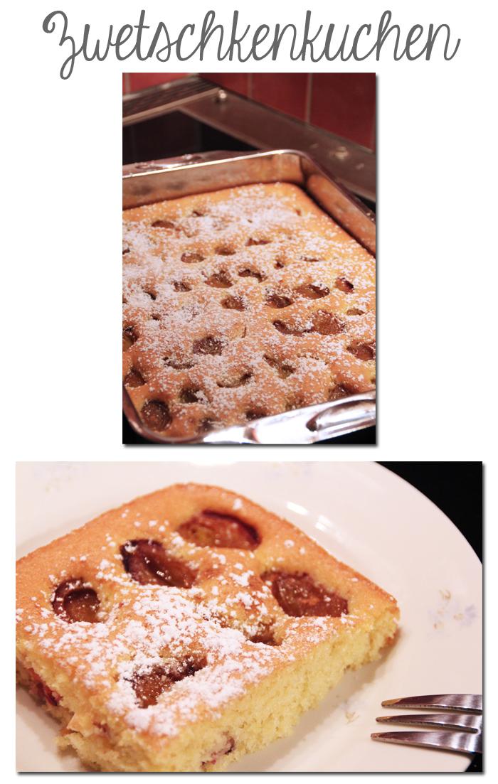 Zwetschkenkuchen