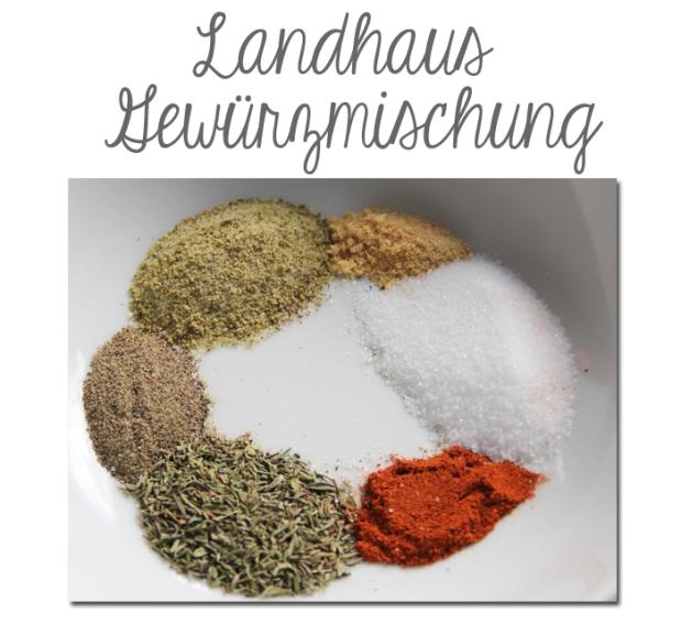 Landhaus Gewürzmischung