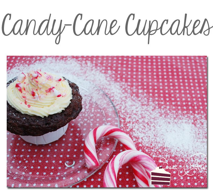 Candy-Cane Cupcakes