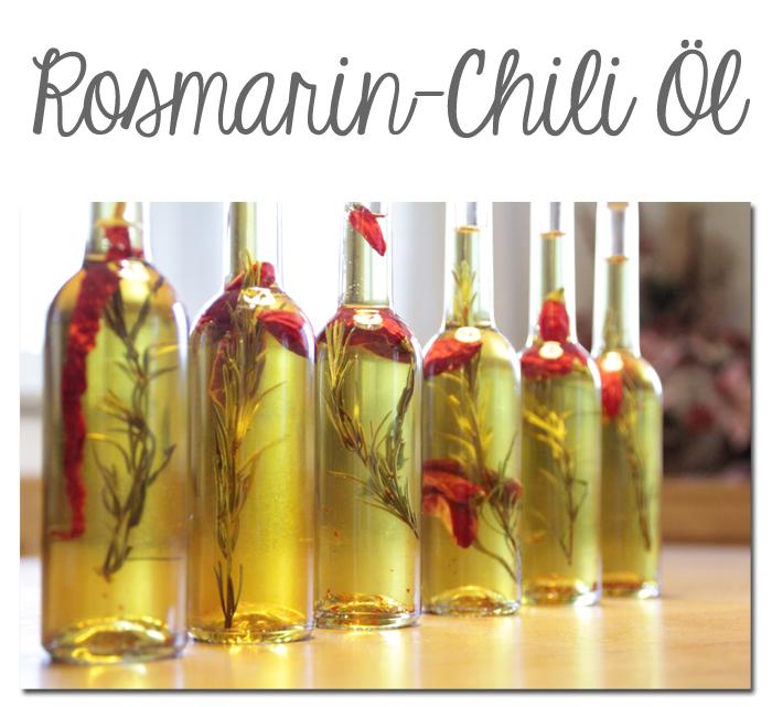 Rosmarin-Chili Öl
