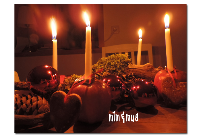 Weihnachtliche Tischdeko1