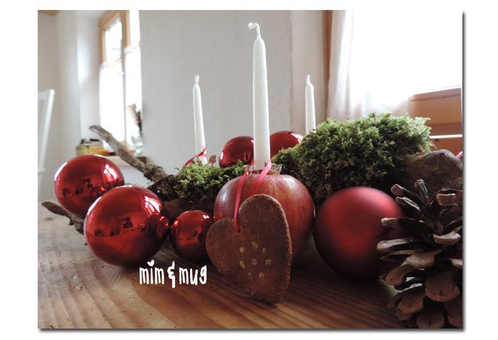 weihnachtliche tischdeko und give away gutschein von casa di falcone leben am land. Black Bedroom Furniture Sets. Home Design Ideas