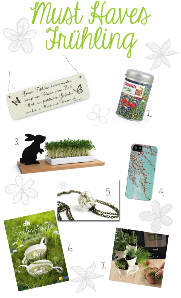 Musthaves Frühling