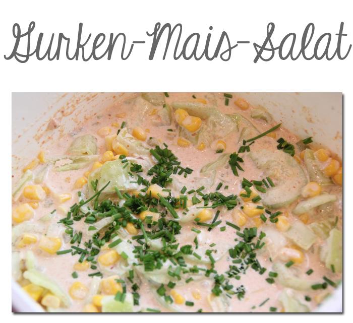 Gurken-Mais-Salat
