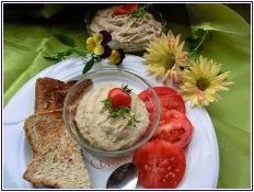Auberginencreme türkische Art mit Feta