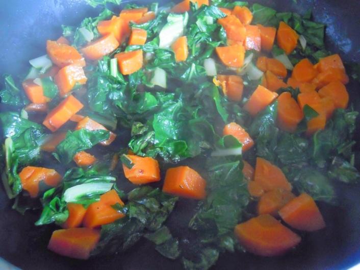 Gemüseeintopf mit Kokosmilch & Curry