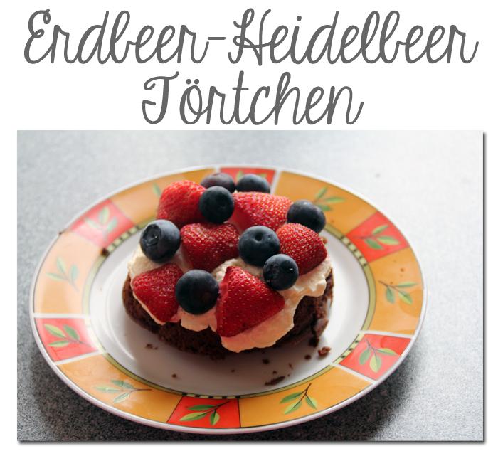 Erdbeer-Heidelbeer-Törtchen