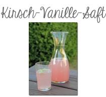 Kirsch-Vanille-Saft